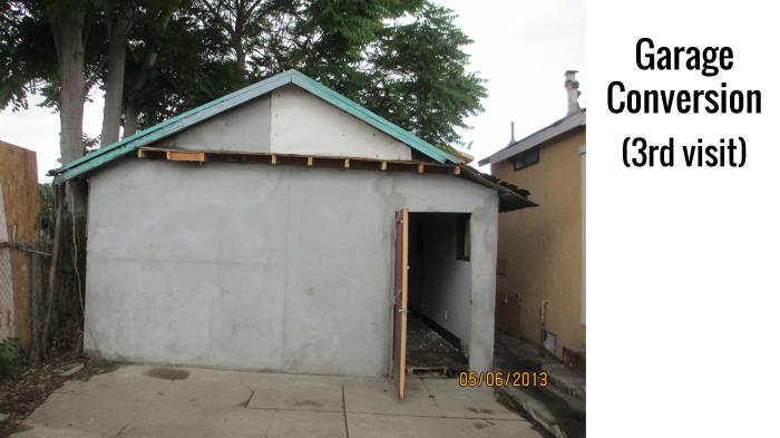 Informal housing talk at LA Mas 05.31.16