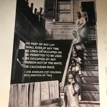 Discriminatory L.A. City Housing Declaration of 1942