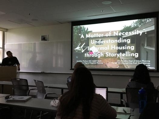 Medina Family ADU talk at UCLA Luskin, May 2018